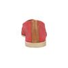 Červené kožené Slip-on topánky bata, červená, 516-5602 - 17