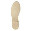 Kožené dámske poltopánky bata, šedá, 526-2619 - 26