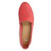 Červené kožené Slip-on topánky bata, červená, 516-5602 - 19