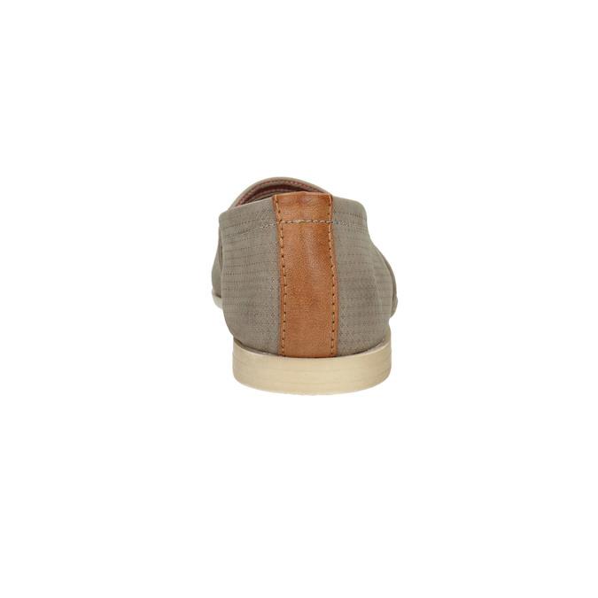 Dámska kožená Slip-on obuv bata, hnedá, 516-2602 - 17
