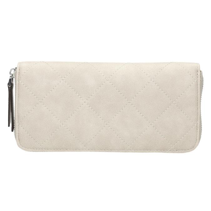 Dámska prešívaná peňaženka bata, béžová, 941-8146 - 19