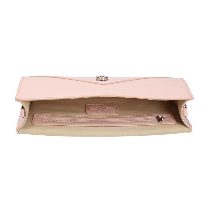 Ružová listová kabelka bata, ružová, 961-5685 - 15