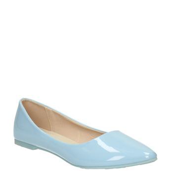 Svetlomodré dámske baleríny bata, modrá, 521-9602 - 13