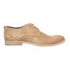 Ležérne kožené poltopánky bata, hnedá, 823-3602 - 15