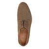 Kožené perforované poltopánky bata, hnedá, 823-4601 - 19