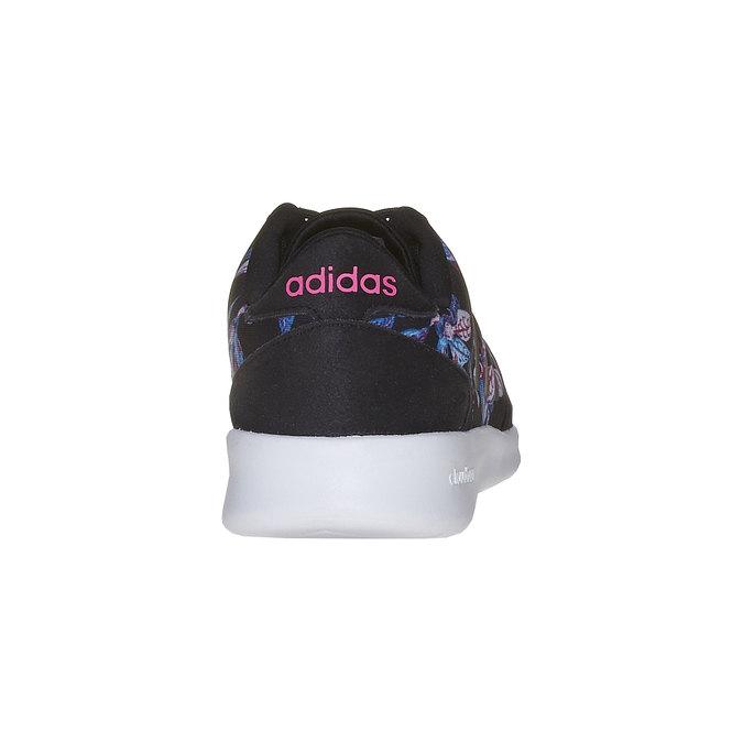 Dámske tenisky s farebným vzorom adidas, čierna, 509-6973 - 17