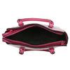 Pruhovaná dámska kabelka bata, ružová, 961-5747 - 15