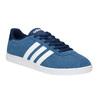 Modré kožené tenisky adidas, modrá, 803-9922 - 13