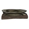 Kožená kabelka s krokodýlím vzorom vagabond, hnedá, 966-3030 - 15