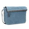 Modrá kožená Crossbody kabelka bata, modrá, 963-9127 - 13