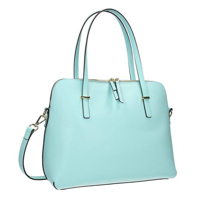 Modrá dámska kabelka bata, modrá, 961-9700 - 13
