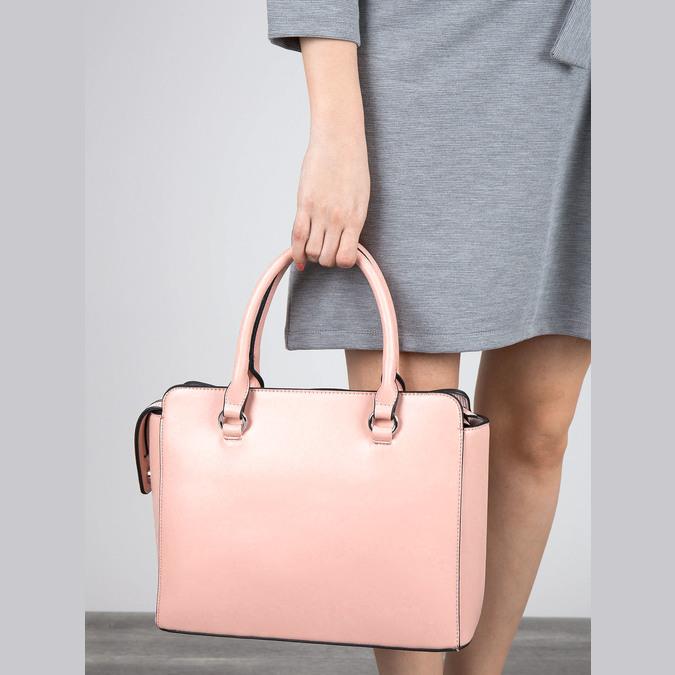 Ružová dámska kabelka bata, ružová, 961-8747 - 17