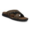 Kožené pánske letné nazuváky bata, hnedá, 866-4612 - 13