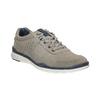 Ležérne kožené tenisky bata, šedá, 843-2627 - 13