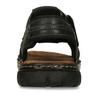 Pánske letné sandále z brúsenej kože bata, hnedá, 866-4610 - 15