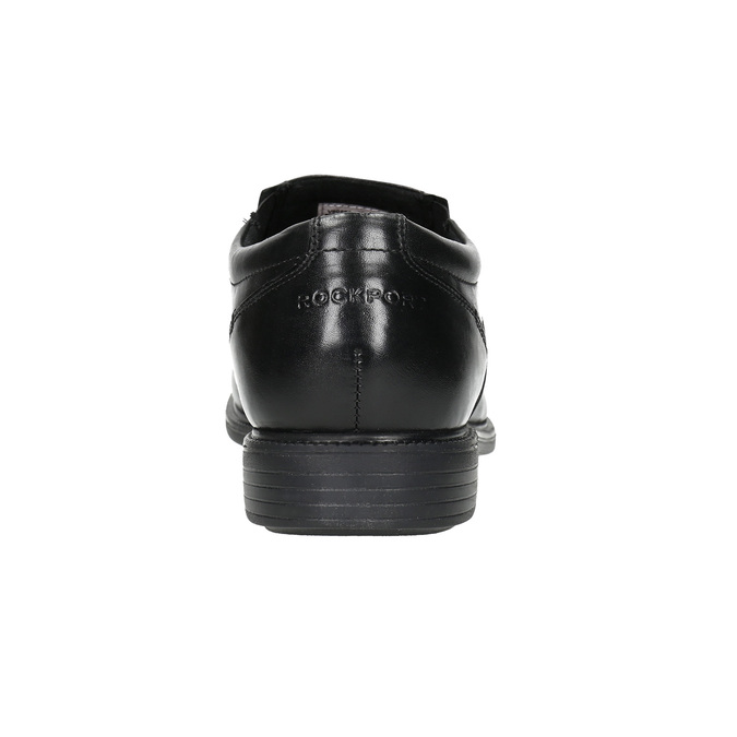 Pánske kožené poltopánky rockport, čierna, 824-6117 - 17
