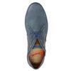 Kožená členková obuv bugatti, modrá, 846-9635 - 19