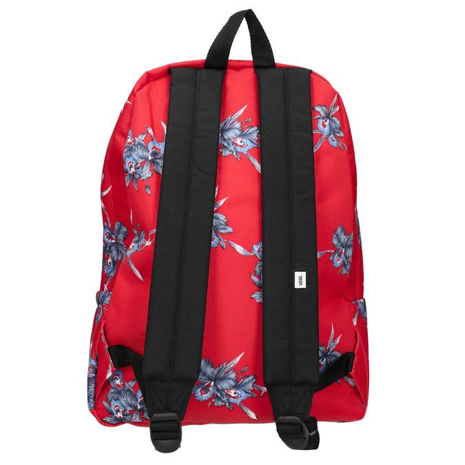 Červený batoh so vzorom vans, červená, 969-5093 - 26