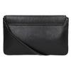 Čierna kožená listová kabelka bata, čierna, 964-6219 - 17