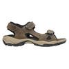 Pánske kožené sandále weinbrenner, hnedá, 866-3630 - 15