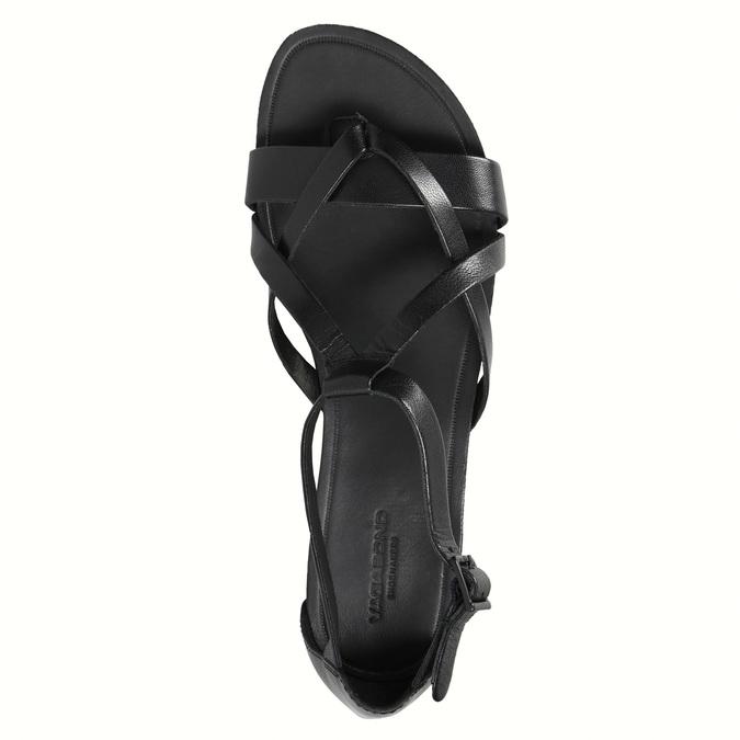 Čierne dámske sandále vagabond, čierna, 564-6017 - 19