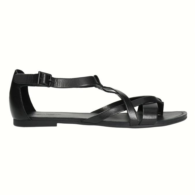 Čierne dámske sandále vagabond, čierna, 564-6017 - 15