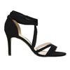 Dámske šnurovacie sandále na podpätku insolia, čierna, 769-6613 - 15