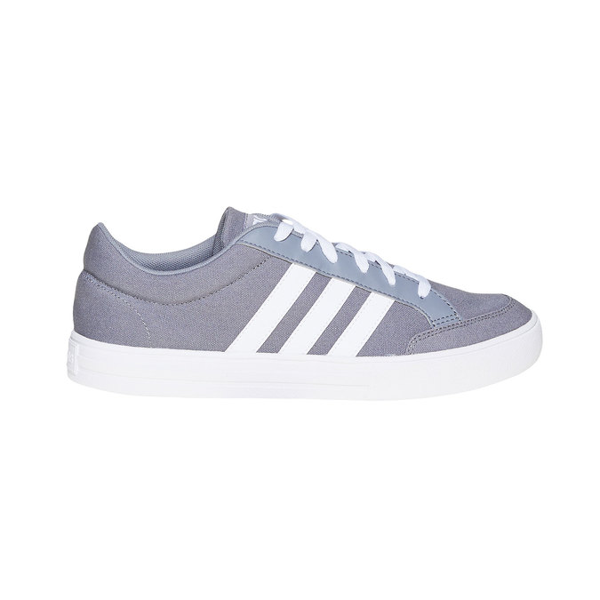 Šedé pánske tenisky adidas, šedá, 889-2235 - 15