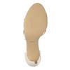 Šnurovacie sandále na podpätku insolia, béžová, 769-1613 - 26