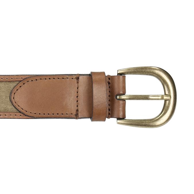 Kožený pánsky opasok weinbrenner, hnedá, 954-8151 - 26