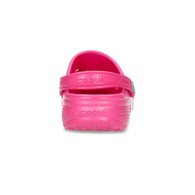 Detské šľapky dievčenské coqui, ružová, 372-5604 - 15