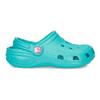 Tyrkysové detské sandále Clogs coqui, modrá, 372-9605 - 17