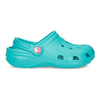 Tyrkysové detské sandále Clogs coqui, 372-9605 - 17