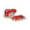 Červené kožené dámske sandále weinbrenner, červená, 566-5608 - 13
