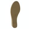 Dámske sandále na prírodnej platforme bata, čierna, 661-6608 - 26
