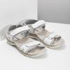 Kožené dámske sandále v Outdoor štýle weinbrenner, biela, 566-1608 - 26