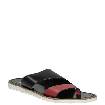 Dámske kožené nazuváky bata, čierna, 566-5614 - 13