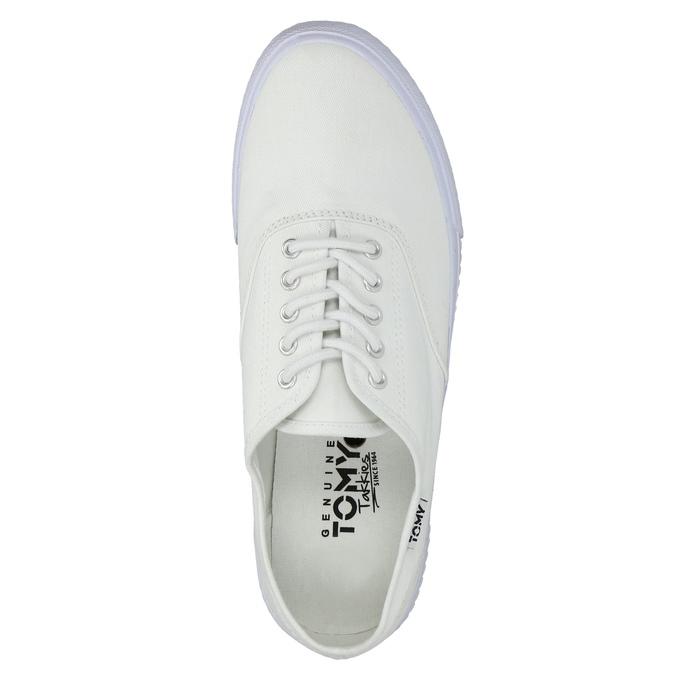Biele ležérne tenisky tomy-takkies, biela, 889-1227 - 19