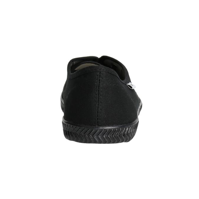 Čierne dámske tenisky tomy-takkies, čierna, 589-6180 - 17