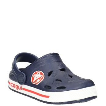 Modré detské sandále coqui, modrá, 272-9603 - 13