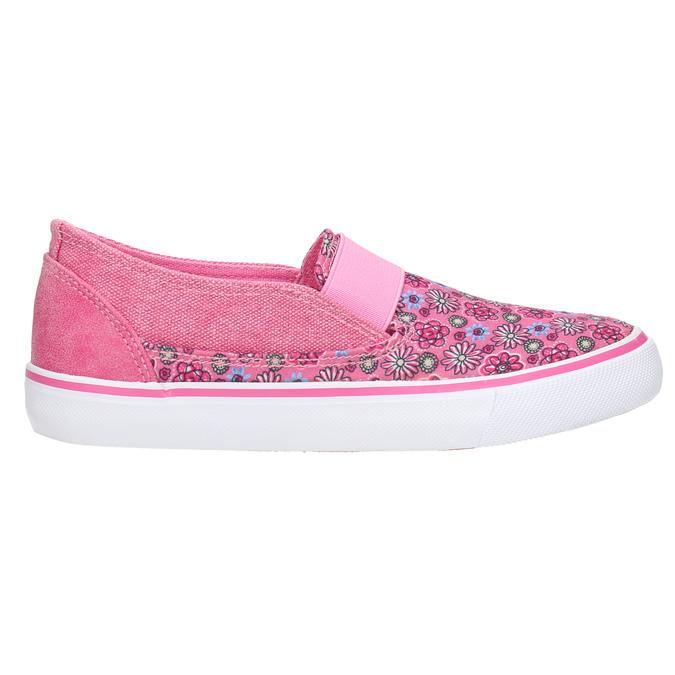 Dievčenské Slip-on so vzorom mini-b, ružová, 329-5611 - 15