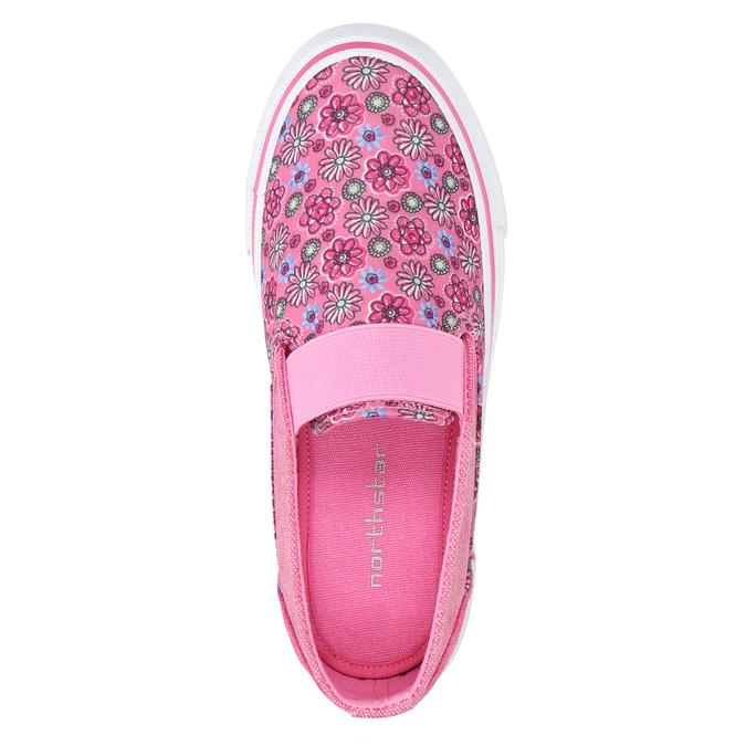 Dievčenské Slip-on so vzorom mini-b, ružová, 329-5611 - 19