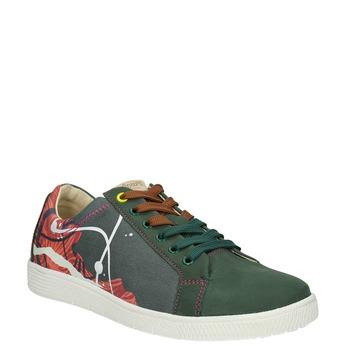 Kožené tenisky z limitovanej edície bata, zelená, 846-7800 - 13