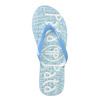 Modré dámske žabky pata-pata, modrá, 572-9601 - 26