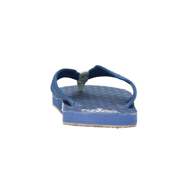 Pánske modré žabky north-star, modrá, 871-9616 - 17