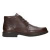 Kožená členková obuv fluchos, hnedá, 824-4450 - 15