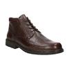 Kožená členková obuv fluchos, hnedá, 824-4450 - 13