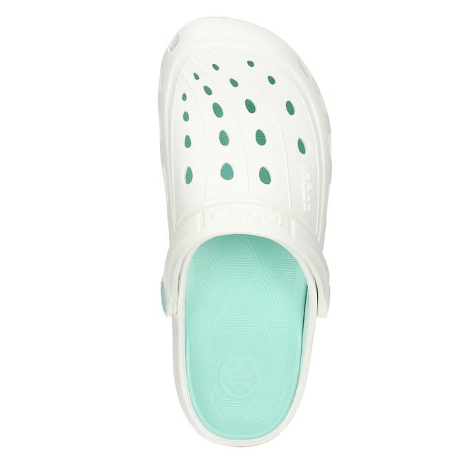 Biele dámske sandále coqui, biela, 572-1606 - 26