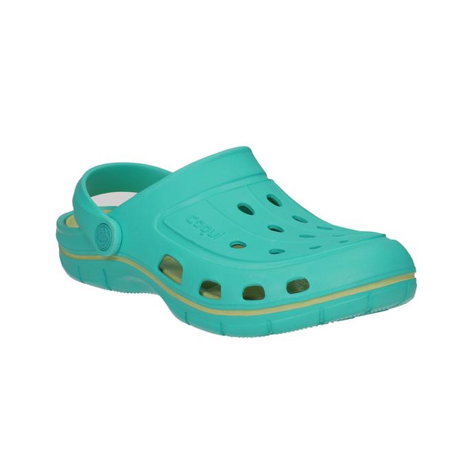 Tyrkysové dámske sandále coqui, 572-9606 - 13