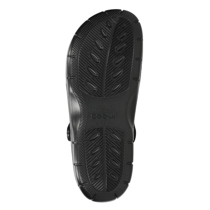 Pánske nazuváky Clogs coqui, čierna, 872-6614 - 19